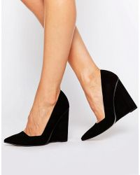 ASOS - Pulse Pointed Wedges - Lyst