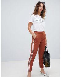 New Look - Double Side Stripe Pants - Lyst