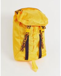 The North Face - Lineage Rucksack 23 Litres In Yellow - Lyst