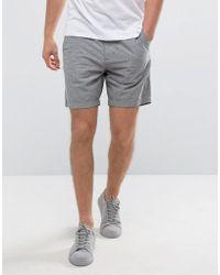 Hollister - Prep Chino Shorts Neppy In Gray - Lyst