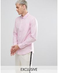 Casual Friday | Button Down Collar Shirt With Pocket | Lyst