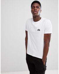 J.Lindeberg - Logo Crew Neck T-shirt In White - Lyst