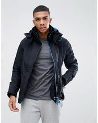 87f934345cbf The North Face Zaneck Detachable Faux Fur Hood Jacket In Black in ...