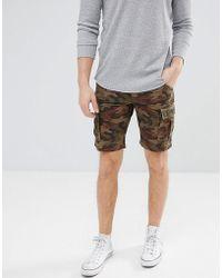 Produkt - Camo Cargo Shorts - Lyst