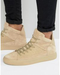 Religion - League Hi Top Suede Sneakers - Lyst