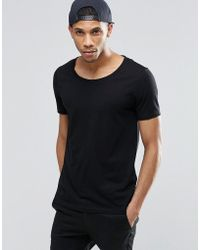 ASOS | T-shirt With Scoop Neck | Lyst
