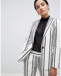 Reiss - Striped Rodeo Blazer - Lyst