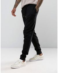ASOS - Drop Crotch Joggers In Black - Lyst