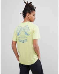 Volcom - T-shirt With Digital Poison Back Print - Lyst