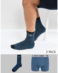 Tokyo Laundry - Two Sock Gift Box - Lyst