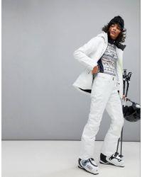 Helly Hansen - Legendary Insulated Ski Trousers In White - Lyst