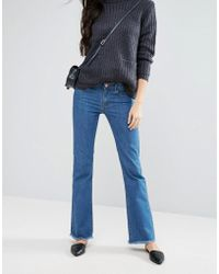 First & I - Kick Flare Jeans - Lyst