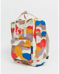Fjallraven Kanken Backpack In Camo