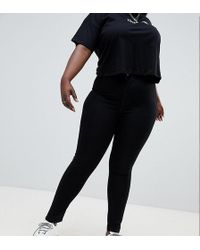 Boohoo - High Waist Skinny Jeans - Lyst