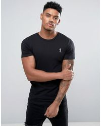 Religion - Crew Neck T-shirt In Muscle Fit - Lyst