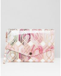Ted Baker - Sea Of Clouds Tablet Case - Lyst
