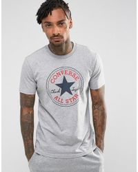 53e85bbc2a6453 Converse Chuck Patch Longsleeved T-shirt In Black 10002856-a01 in ...