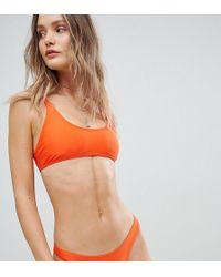 South Beach - Papayana Crop Bikini Top - Lyst