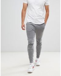 G-Star RAW Motac-x Logo Tapered joggers In Grey