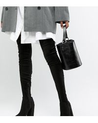 ASOS - Asos Design Tall Kassidy Heeled Thigh High Boots - Lyst