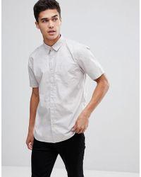 Bellfield - Short Sleeve Shirt - Lyst