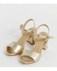 b4d8ad262d03 Women's Truffle Collection Heels Online Sale - Lyst