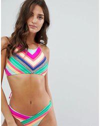 Body Glove - High Neck Bikini Top - Lyst