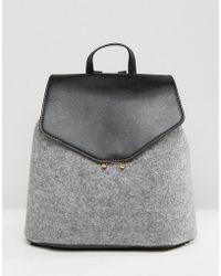 Mango - Contrast Mini Backpack - Lyst