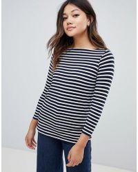 ASOS - Stripe Slouchy Long Sleeve T-shirt - Lyst