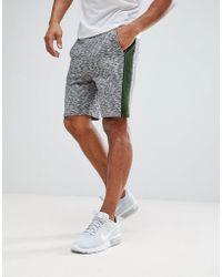 ASOS - Skinny Shorts With Slub Colour Block - Lyst