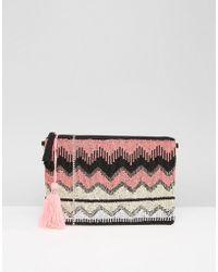 Park Lane - Embellished Clutch Bag - Lyst