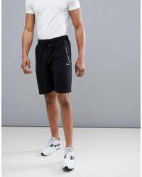 Boohoo - Active Jersey Shorts In Black - Lyst