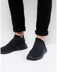 e57162d0c adidas Originals - Nmd Cs2 Primeknit Boost Sneakers In Black Cq2373 - Lyst