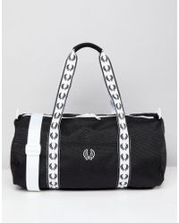 Fred Perry - Track Holdall - Lyst
