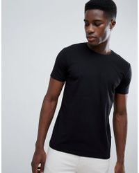 Esprit - Organic Muscle Fit T-shirt In Black - Lyst