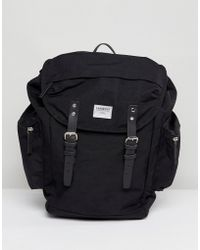 Sandqvist - Lars Goran Cordura Backpack In Black - Lyst