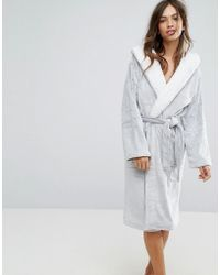 New Look - Frosted Robe - Lyst