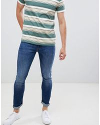 Produkt - Skinny Fit Jeans In Mid Blue Denim - Lyst