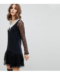 Anna Sui - Exclusive Lace Dress - Lyst
