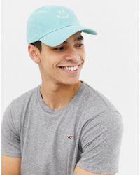 Hollister - Twill Cap In Blue - Lyst