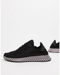 743963a06 Lyst - adidas Originals Deerupt Sneakers In Yellow And Lilac in Yellow