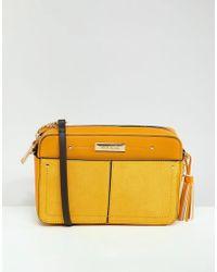 River Island - Box Across Body Bag - Lyst