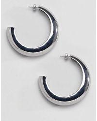 Stradivarius - Big Hoops Earrings - Lyst
