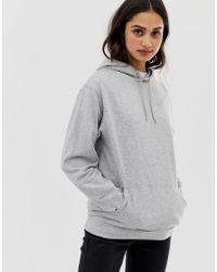 f3c8e14b93dd76 ASOS Ultimate Oversized Pullover Hoodie in Pink - Lyst
