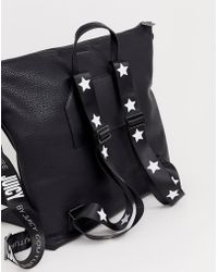 Juicy Couture - Juicy Myla Slouchy Backpack In Black - Lyst