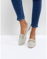 Office - Fastlane Grey Loafers - Lyst
