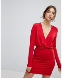 Ivyrevel - Long Sleeved Dress With Ruffle Waist - Lyst