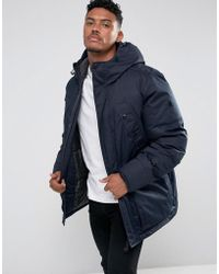G-Star RAW - Whistler Twill Hdd Parka Jacket - Lyst