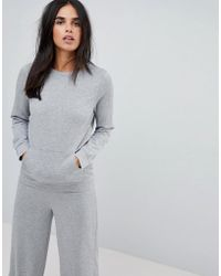 Vila - Clean Sweatshirt - Lyst