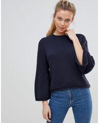 ONLY - Sana Bell Sleeved Knit Jumper - Lyst